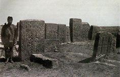 An Armenian cemetery in Ahlat, Turkey