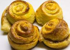 Kanebullar are Swedish cinnamon rolls. Believe it or not, cinnamon rolls originated in Sweden, which is why these are particularly the best ones in the world! Sweden even has a 'national day' dedicated to these delicious pastries, on October 4.  On this day, cafes, restaurants and convenient stores share their recipes and celebrate the amazingness that cinnamon rolls provide to everyone.