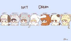 All Meme, Kpop Drawings, Seventeen Wallpapers, Jisung Nct, Cute Anime Pics, Cute Chibi, Kpop Fanart, Fandom, I Wallpaper