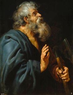 San Matías, Rubens, ca. 1611, óleo sobre tabla, Museo del Prado