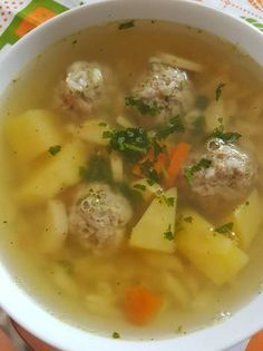 Hungarian Recipes, Hungarian Food, Soups And Stews, Cheeseburger Chowder, Soup Recipes, Baking, Lunches, Diet, Hungarian Cuisine