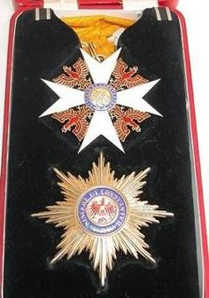 Medal; Prussian Grand Cross Order of the Red Eagle, Star/Medal/Sash, Case.