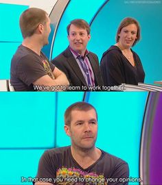 Teamwork | David Mitchell and Rhod Gilbert | Would I Lie to You?