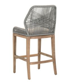 Nothing beats furnishings with #handcrafted details. The Loom Chair from @oefurniture is available in both bar and counter height! Choose between the gray or natural color way. #Woven #barstool #entertaining #HPMKT #HPMKTSS  #TrendWatch
