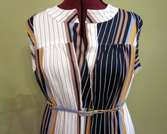 Vintage Striped Dress @ http://www.etsy.com/shop/FrequencyVintage