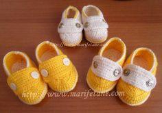 Açıklamalı Çift Taban Bebek Patik Ayakkabı home crochet baby shoes:http://www.marifetane.com/2013/03/acklamal-cift-taban-bebek-patik-ayakkab.html