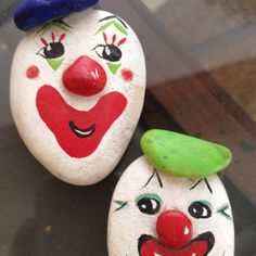 Painted rocks so cute
