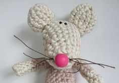 Crochet Pattern for Marge Mouse