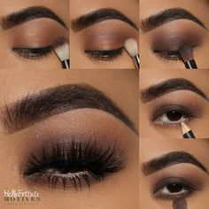 Learn how to create this stunning Eye Makeup look with the Motives Iconic Palette. Click through to our post for step-by-step instructions.  #makeup #motivescosmetics #beyondbeauty #motives #iconic #mua #newproduct