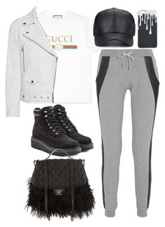 """Untitled #10520"" by katgorostiza ❤ liked on Polyvore featuring Gucci, Lot78, rag & bone, Chanel and Acne Studios"