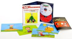 I received this book to review in exchange for sharing my honest opinion. Charlie Brown Christmas 50th Anniversary (Walmart Exclusive) Fantasy Records and Concord Music Group (October 30, 2015) A brand new 50th Anniversary gift pack for A Charlie Brown Christmas has just hit stores.