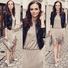 Prezentacja nowej kolekcji @theofficialpandora buty #casadei sukienka @sugarfree_brand kurtka #ochnik  torebka #bottegaveneta biżuteria @theofficialpandora @swarovski