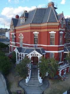 The Copper King Mansion Bed and Breakfast in Butte, Montana, owned & operated by my dear friend of nearly 55 years, ERIN Thompson-Sigl & her family!