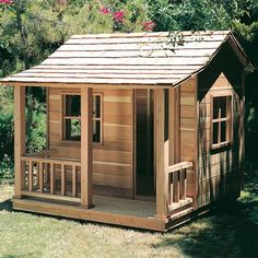 Woodworking Project Paper Plan for Playhouse No. 881:Amazon:Home Improvement $9.95