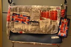"CheRRy's World: Messenger Bag ""LONDON"""