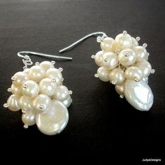 Perfect bridal earrings