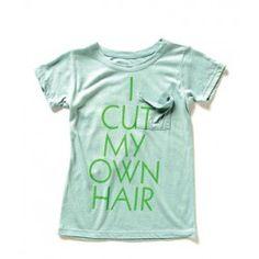 So fun!! hair tshirt