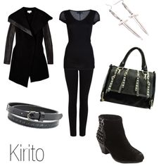 Kirito, created by ja-vy on Polyvore
