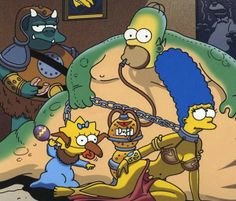 OMG :D Star wars and Simpsons mashup