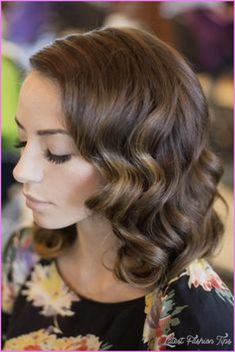 nice Shoulder length hairstyles for weddings