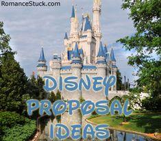 Disney Proposal Ideas | ♥ RomanceStuck.com I NEED & WANT to get proposed at Disneyland!!!