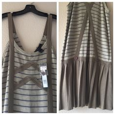 NEW Marc by Marc Jacobs Dress New drop down waist sweater dress. Marc by Marc Jacobs Dresses