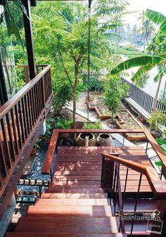 Thai Style-Tropical Loft cement wood