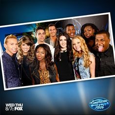 Here they are- your American Idol Top 10!