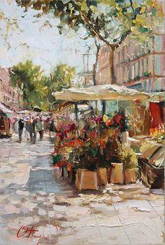 Paintings by Russian Artist Oleg Trofimov