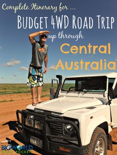 Our Complete Itinerary for the Best Budget Road Trip up through Central Australia from Adelaide to Darwin {Big World Small Pockets} Melbourne, Sydney, Road Trip Hacks, Camping Hacks, Backpacking Tips, Camping Ideas, Western Australia, Australia Travel, Coast Australia