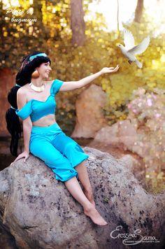 A dream of freedom - Princess Jasmine Cosplay by Eressea-sama on DeviantArt Princess Shot, Disney Princess, Will Smith Movies, Princess Jasmine Cosplay, Genie Aladdin, You're Beautiful, Nice To Meet, Phan, Freedom