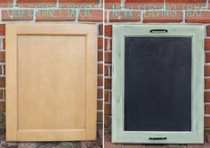 Chalkboard Serving Tray Tutorial | So You Think You're CraftySo You Think You're Crafty