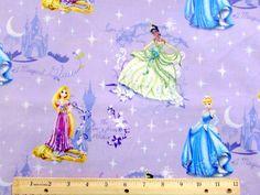 Disney Fabric Princess Glow Scenic Fabric From by overstockfabric