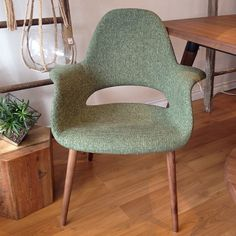 Our Jesse chair in green tweed is back in stock and as comfy as ever! Web Instagram User » Followgram