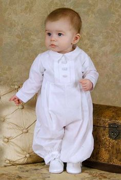 Michael Cotton Christening Outfits $60.50 - this is my favorite baptism outfit for a boy so far