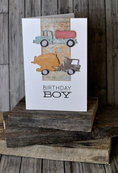 I started my creative journey as a freelance cartoonist before Landing a job with Sizzix Back in the year Like most makers I am happy to turn my hand Tim Holtz Dies, Masculine Birthday Cards, Bday Cards, Die Cut Cards, Distress Ink, Kids Cards, Cool Cards, Boy Birthday, Projects To Try