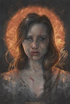 Amazing Katniss Fan Art