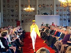 Balmuir spring colours in Charity runway show at glorious Ritarihuone, Helsinki Finland. www.balmuir.com/shop