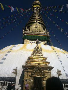Monkey Temple. Kathmandu, Nepal