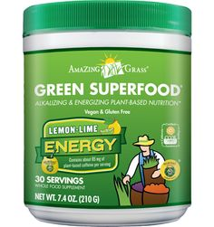 Green SuperFood - Lemon-Lime Energy
