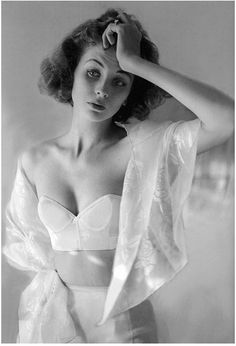 Suzy Parker photographed by Lillian Bassman, 1950s