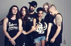 Badass Urbanite Ensembles - Lose Your Inhibitions with the Latest Pardon Le Dopeness Photo Shoot