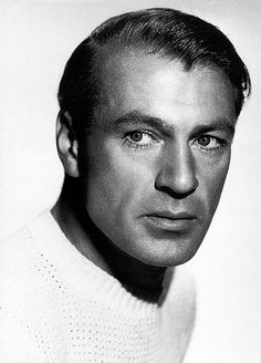 Gary Cooper - Doc. The helmet-hair coming a tiny bit undone...