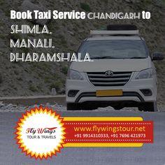 Book Taxi Service Chandigarh To Shimla, Manali, Dharamshala #Taxi #Tour #Travel #Shimla #Manali #Dharamshala