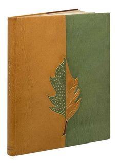 Comtesse de Noailles Les Climats. Paris, Société du livre contemporain, 1924.  Reliure de l'abbaye de Maumont.