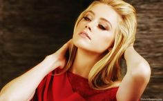 Amber Heard on Red