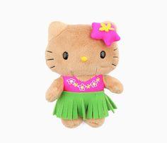 """Hello Kitty 5"""" Mascot Plush: Hula"""