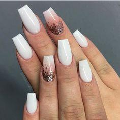 Mismatched nail art design