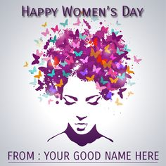 Write Name on Happy Womens Day 2015 Wishes Greetings.Womens Day 2015 Greetings With Name.Generate Online Womens Day Whatsapp DP With Your Name. Happy Birthday Cake Images, Cake Name, Lemon Cookies, Happy Women, Cool Names, Graphic Design Illustration, Art, Cooking, Art Background