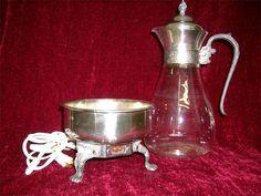 Vintage Sheridan Silverplate Coffee Warmer by SweetCarolinaWhimsys, $45.00